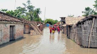 heavy-rain-in-nepal-24-villege-flood-in-bihar