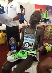 Abraham Kiptum of Kenya emerges as Lagos City Marathon 2017 winner (Photos)