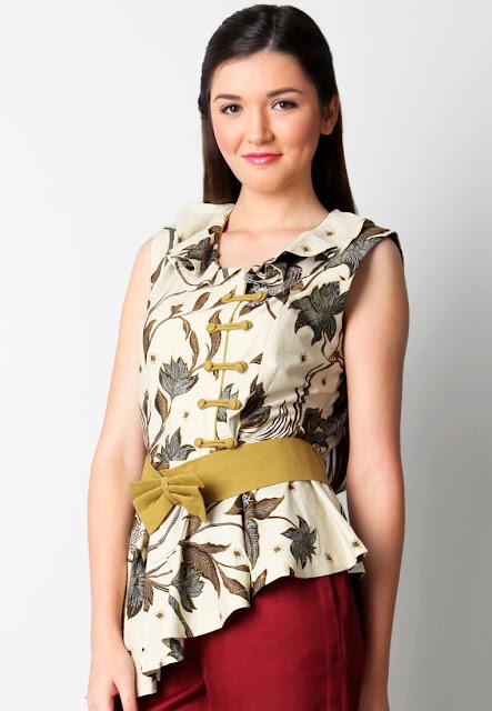 Model Baju batik Kerja Unik dan Lucu terbaru