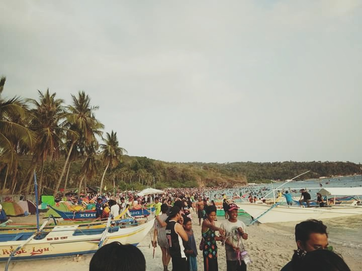 Masasa Beach was crowded during the Holy Week 2018