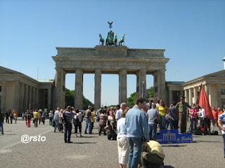 La Porta di Brandeburgo Berlino