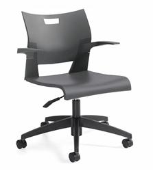 Global Duet Polypropylene Chair 6720