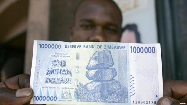 Inflasi Parah di Zimbabwe