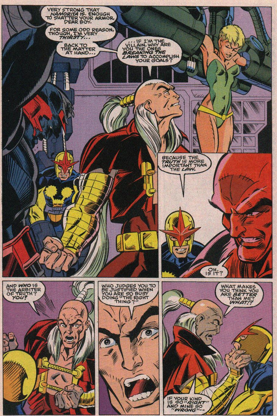 The New Warriors Issue #19 #23 - English 16