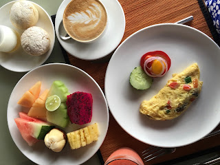 gluten-free breakfast at the Four Seasons Jimbaran Bay Bali