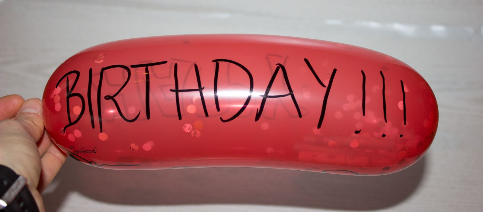 Sophies Sofa Last Minute Geldgeschenk Luftballon Mit Geldscheinen
