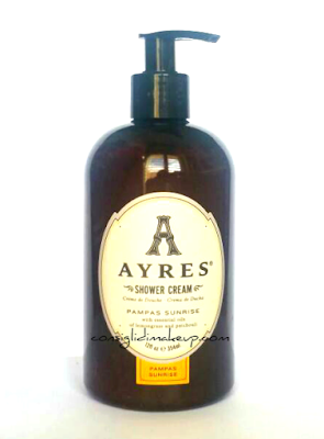 Shower Cream Ayres in vendita da Sephora, la mia opinione