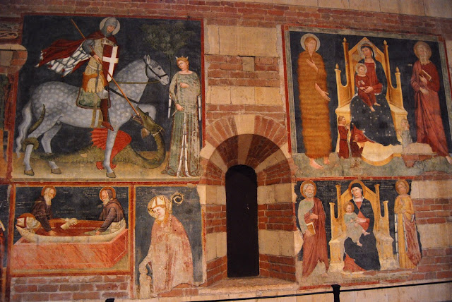 fresques basilique San Zeno