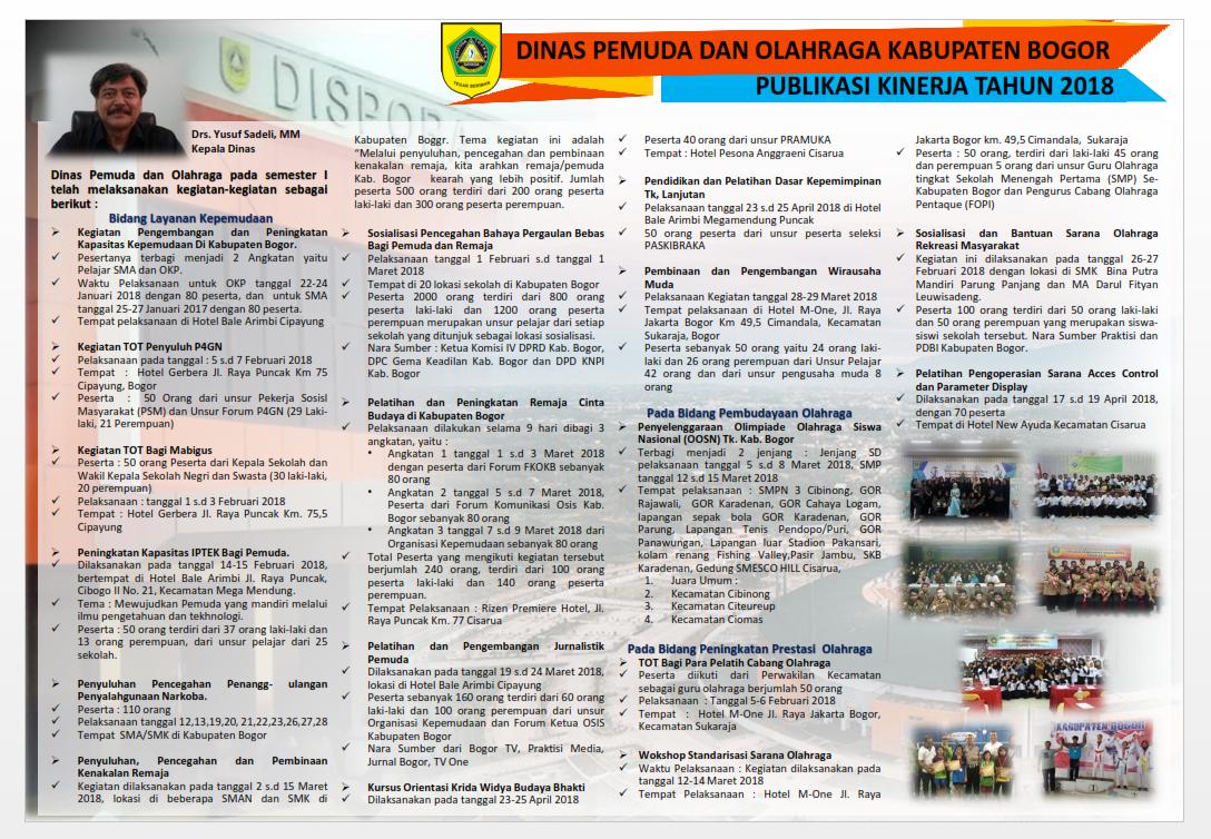 Dispora Kabupaten Bogor