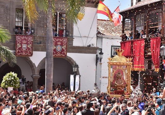 El Obispado plantea la Bajada de La Virgen para 2021