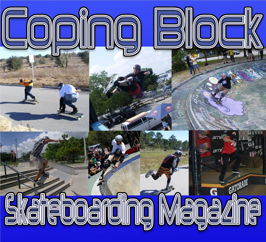 "Coping Block Skateboarding Magazine ""The Blog!"""