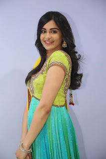 Actress Adah Sharma Stills in Salwar Kameez at Garam Movie Release Date Press Meet  0010