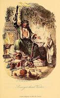 Scrooge's Third Visitor, John Leech