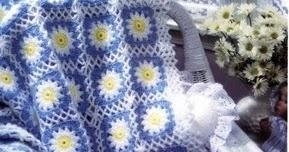 Hobby lavori femminili  ricamo  uncinetto  maglia copertina neonato