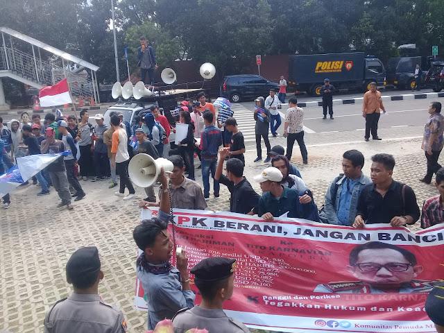 Datangi KPK, Pemuda Madani Desak KPK Segera Panggil Tito Karnavian