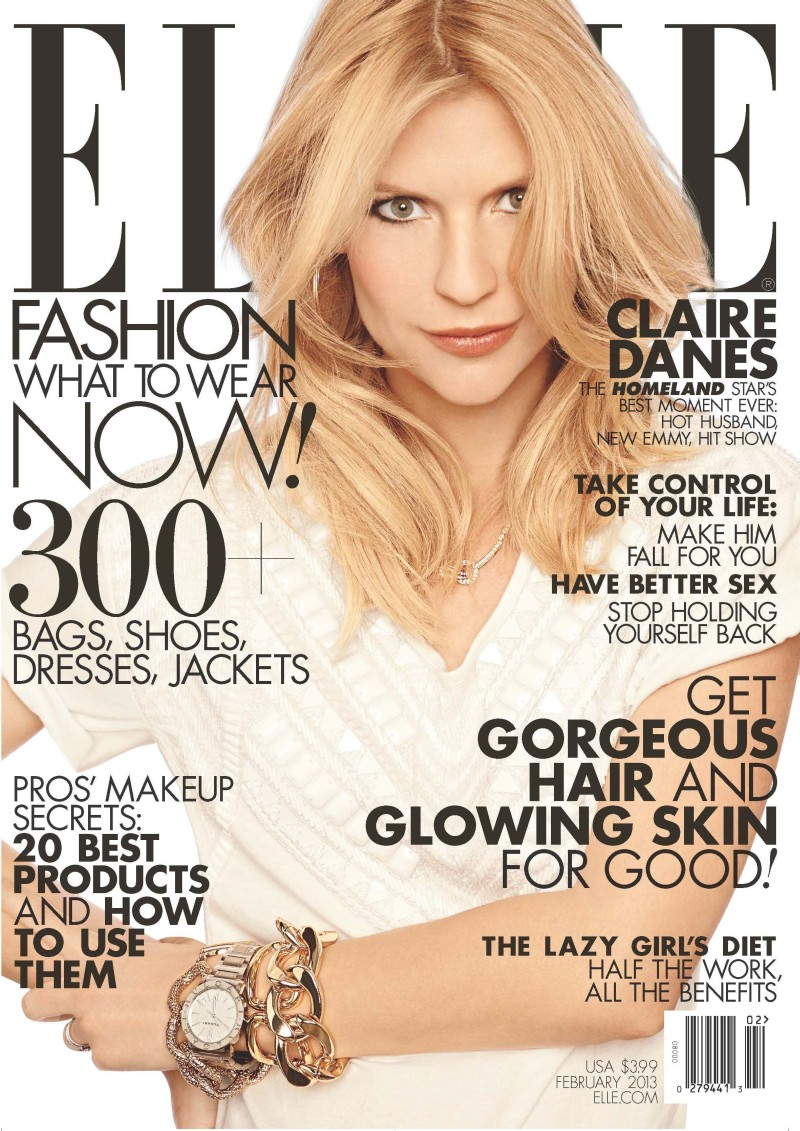 Elle Magazine France February March: Magazine Cover Girls