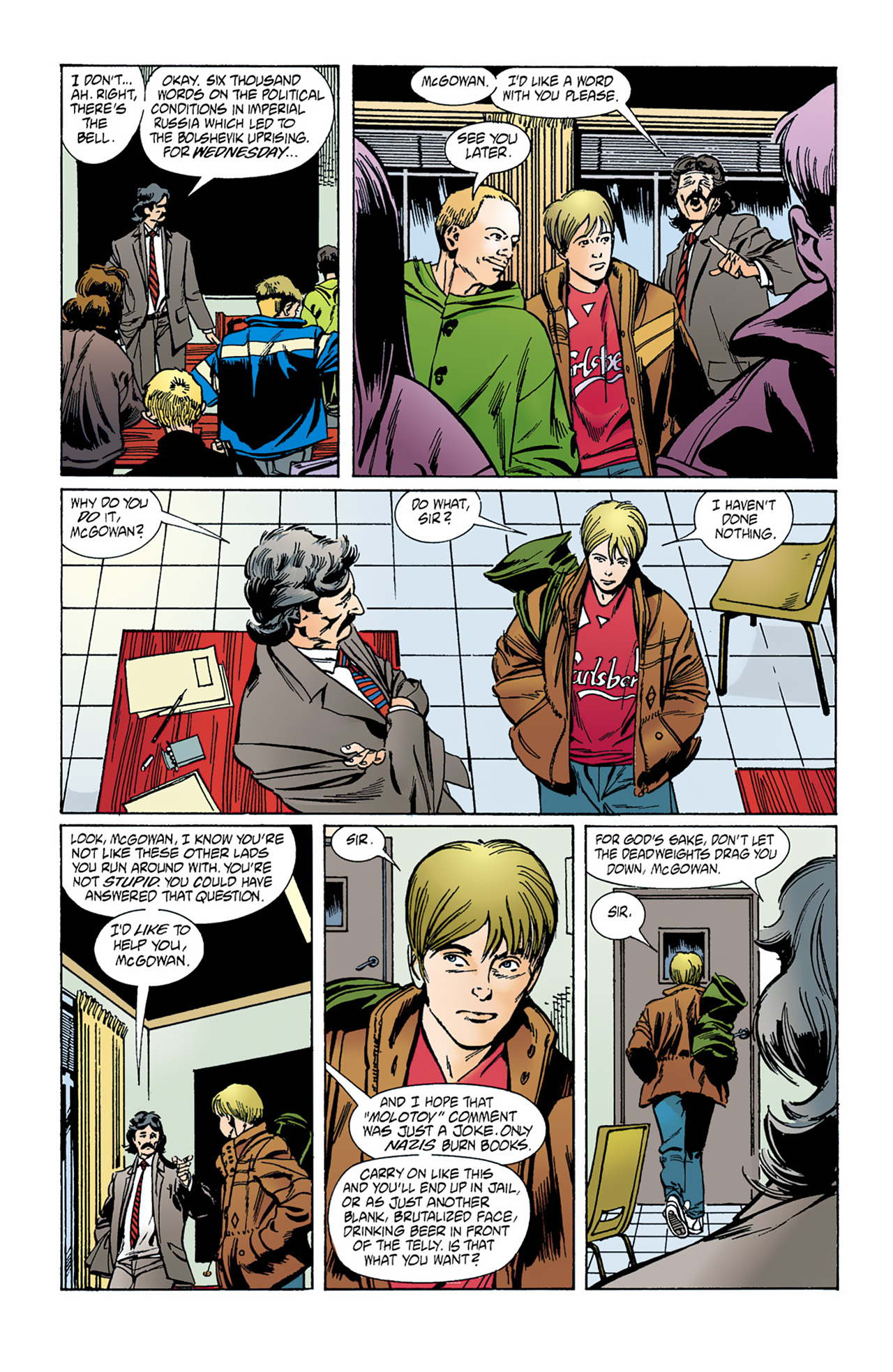 The Invisibles (1994) 1 Page 8