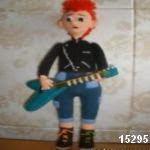 patron gratis guitarrista amigurumi, free amigurumi pattern guitarist