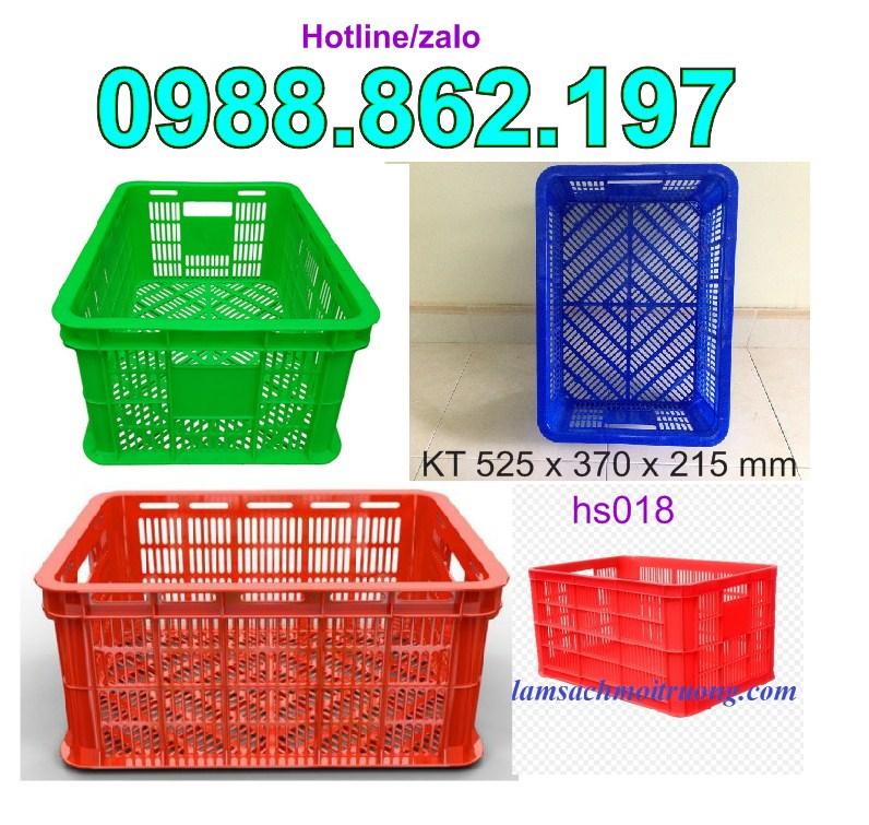 www.123nhanh.com: Sóng Nhựa Rỗng HS018, thùng nhựa rỗng HS018, sóng nhựa h