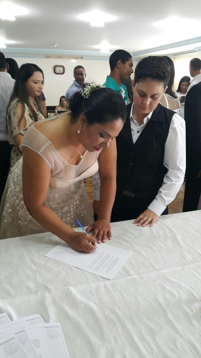 No Sertão: Mulheres protagonizam o primeiro casamento homoafetivo