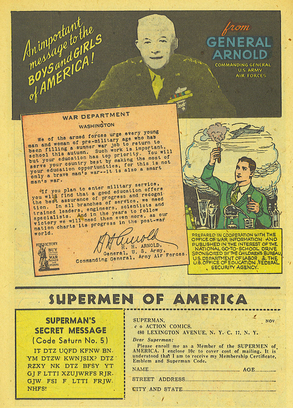 Read online Action Comics (1938) comic -  Issue #78 - 29