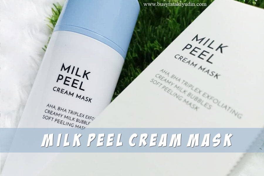 althea milk peel cream mask, kulit kering, kulit berminyak, milk peel cream mask, althea korea,