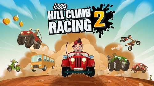 Best Android Racing Games #7 Hill Climb Racing 2