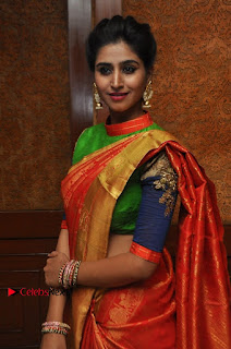 South Indian Celebrities Pos at Love For Handloom Collection Fashion Show  0136.jpg