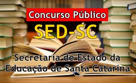 Apostila SED-SC Concurso Público da Secretaria da Educação de SC