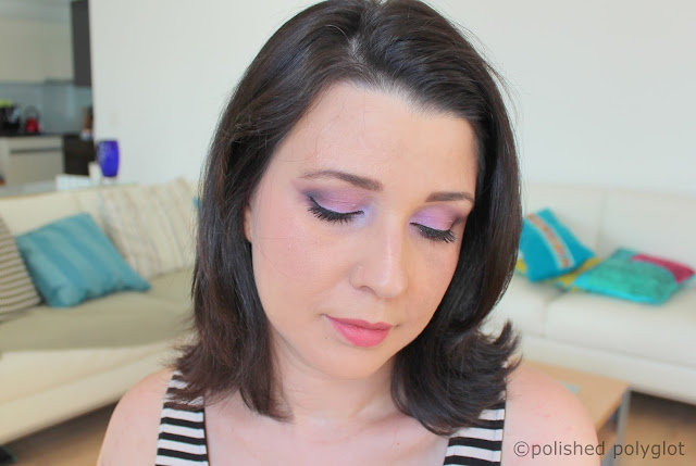 Makeup Challenge Look: Eyeshadow Mauve
