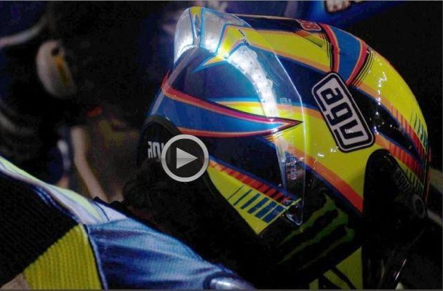 Το φωτιζόμενο κράνος του Rossi δίνει ιδέες για το μέλλον