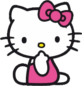 hello kitty with flowers: free party printables. - oh my fiesta in english