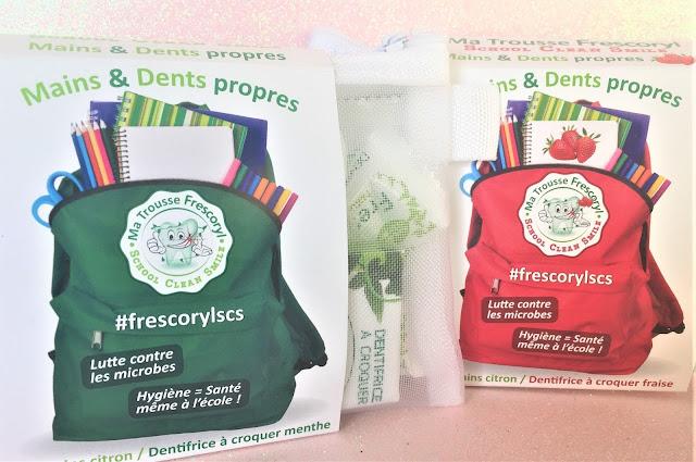 Frescoryl Kit Mains et Dents propres, version menthe et version fraise