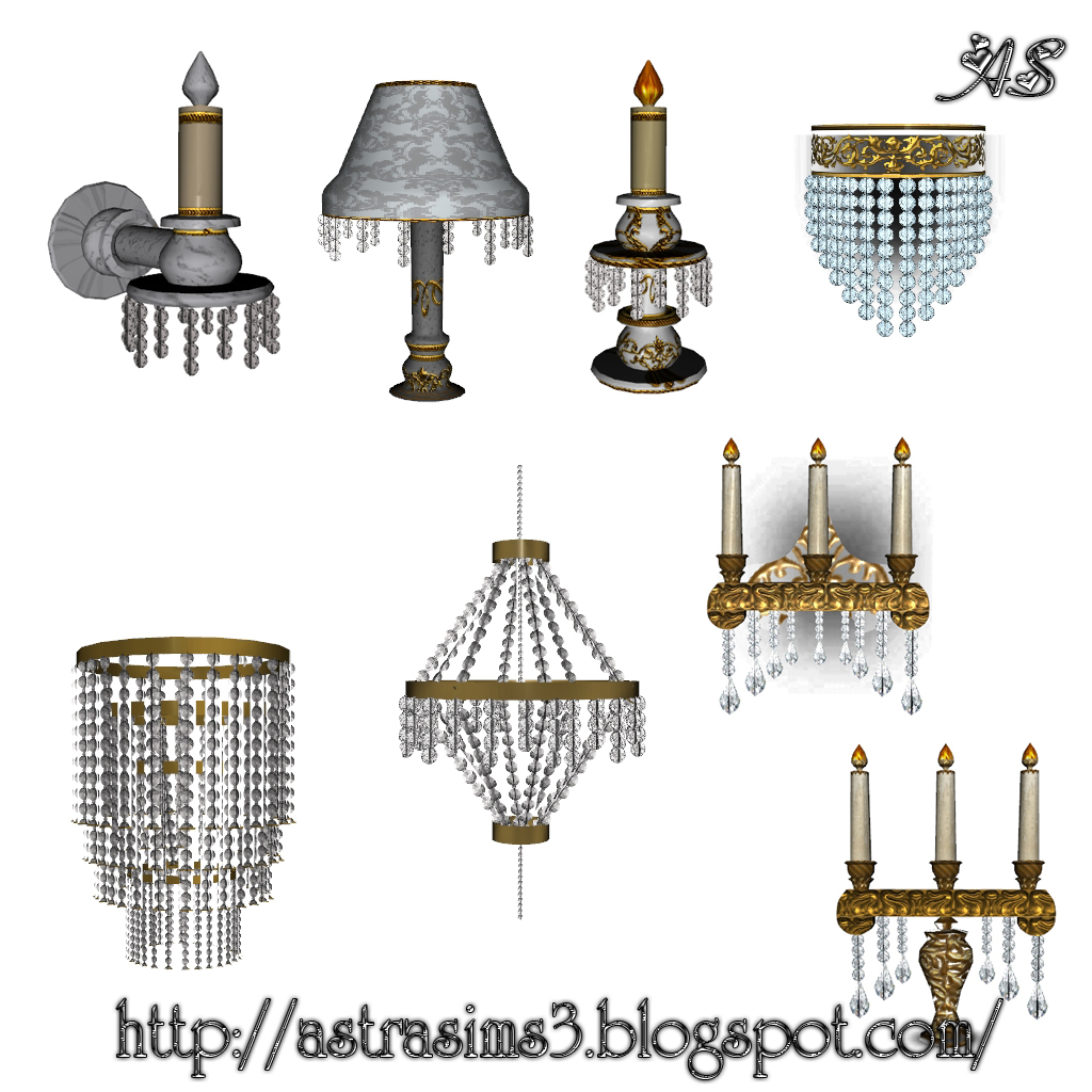 Ceiling Lamp The Sims 4: My Sims 3 Blog: New Lamps By Astra