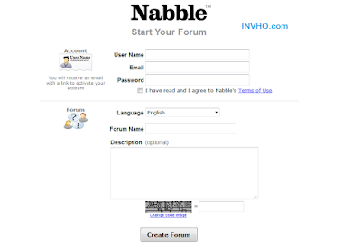 Registrasi Nabble