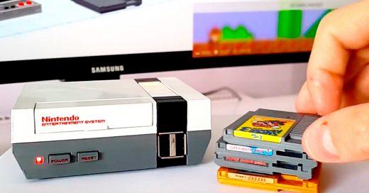 Crea su propia versión del Mini NES y es mejor que el Oficial