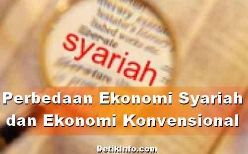 beda ekonomi syariah dan konvensional