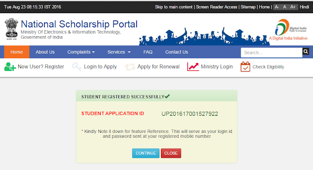 National Scholarship Scheme