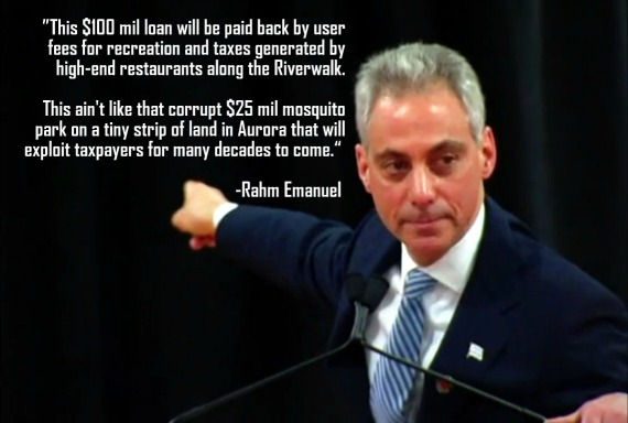 Loan 100 This not Riverwalk; Mosquito Emanuel Waste 25 For Million The Rahm Chicago Grant com Obama Aurora Like Explains In Gives Ain't Openlineblog Park Riveredge