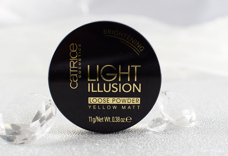 Catrice Light Illusion Loose Powder, Catrice Neues Sortiment Frühjahr Sommer 2018, Review, Swatch