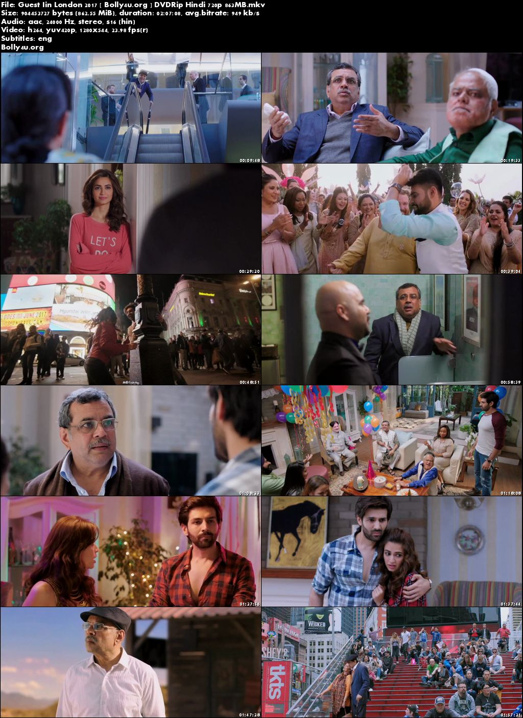 Guest Iin London 2017 DVDRip 850MB Full Hindi Movie Download 720p