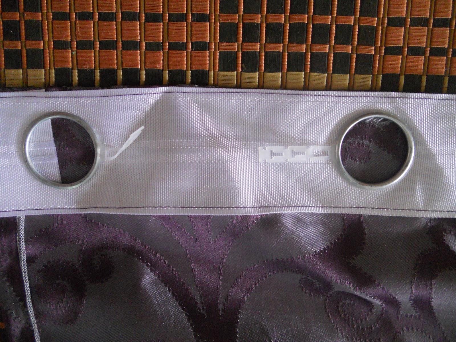 Untuk Bahagian Atas Letak Tape Tu Lebihkan ½inci Nanti Basi Jahitan Adalah Peniti Dengan Langsir Dulu Sebelum Jahit Senget K