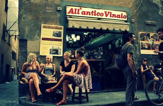 Bar All'Antico Vinaio em Florença