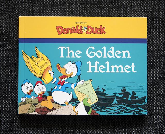 """The Golden Helmet"", book 3 in Fantagraphics' series with Carl Barks paperbacks"