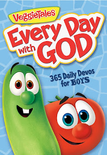 The Artist Librarian reviews VeggieTales' Every Day with God Devotional