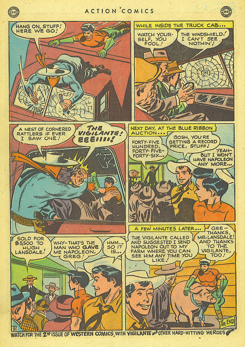 Read online Action Comics (1938) comic -  Issue #118 - 40