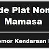 Kode Plat Nomor Kendaraan Mamasa