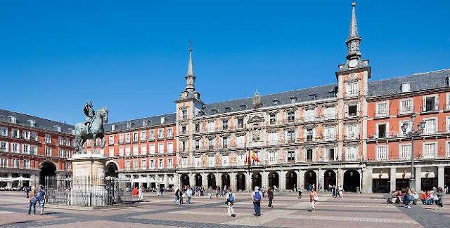 Bairro Asturias em Madri