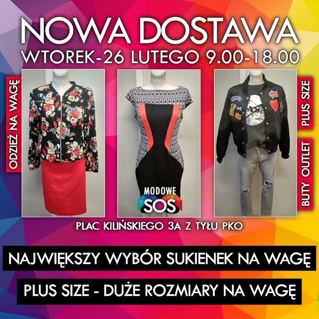 06a9f48a92 Modowe SOS odzież używana i outlet na wagę Szczecin oraz PLUS SIZE ...