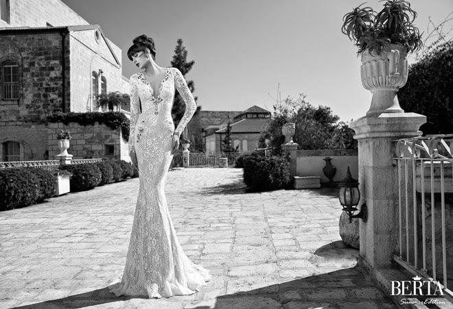 Berta Bridal Summer 2014 Wedding Dresses - Part 1 - Belle The Magazine